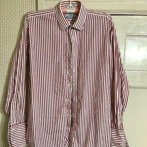 Charles Tyrwhitt French Cuff Button Down Shirt